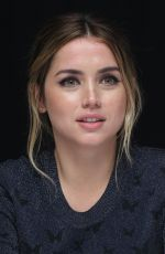 ANA DE ARMAS at Blade Runer 2049 Photocall in Los Angeles 09/24/2017