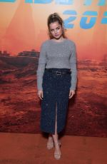 ANA DE ARMAS at Blade Runer 2049 Photocall in Paris 09/20/2017