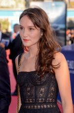 ANAIS DEMOUSTIER at 43rd Deauville American Film Festival Opening Ceremony 09/01/2017