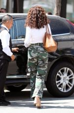 ANDIE MACDOWELL Out for Lunch in Beverly Hills 09/05/2017
