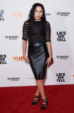 ANDREA CORR at Lies We Tell Premiere in London 09/21/2017