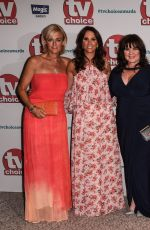 ANDREA MCLEAN at TV Choice Awards in London 09/04/2017