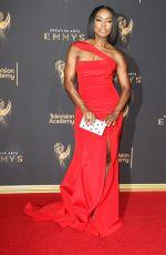 ANGELA BASSETT at Creative Arts Emmy Awards in Los Angeles 09/10/2017