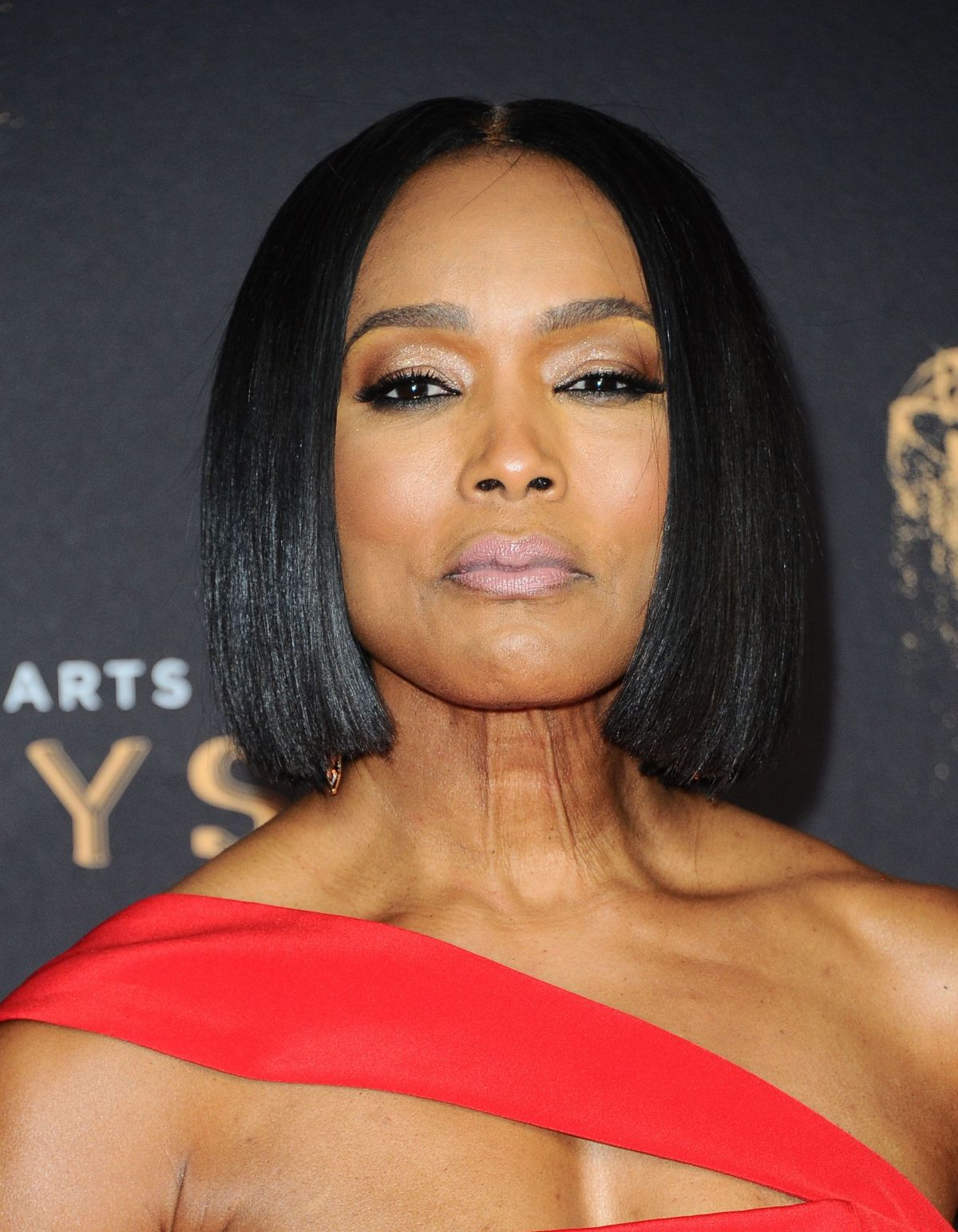 ANGELA BASSETT at Creative Arts Emmy Awards in Los Angeles ...