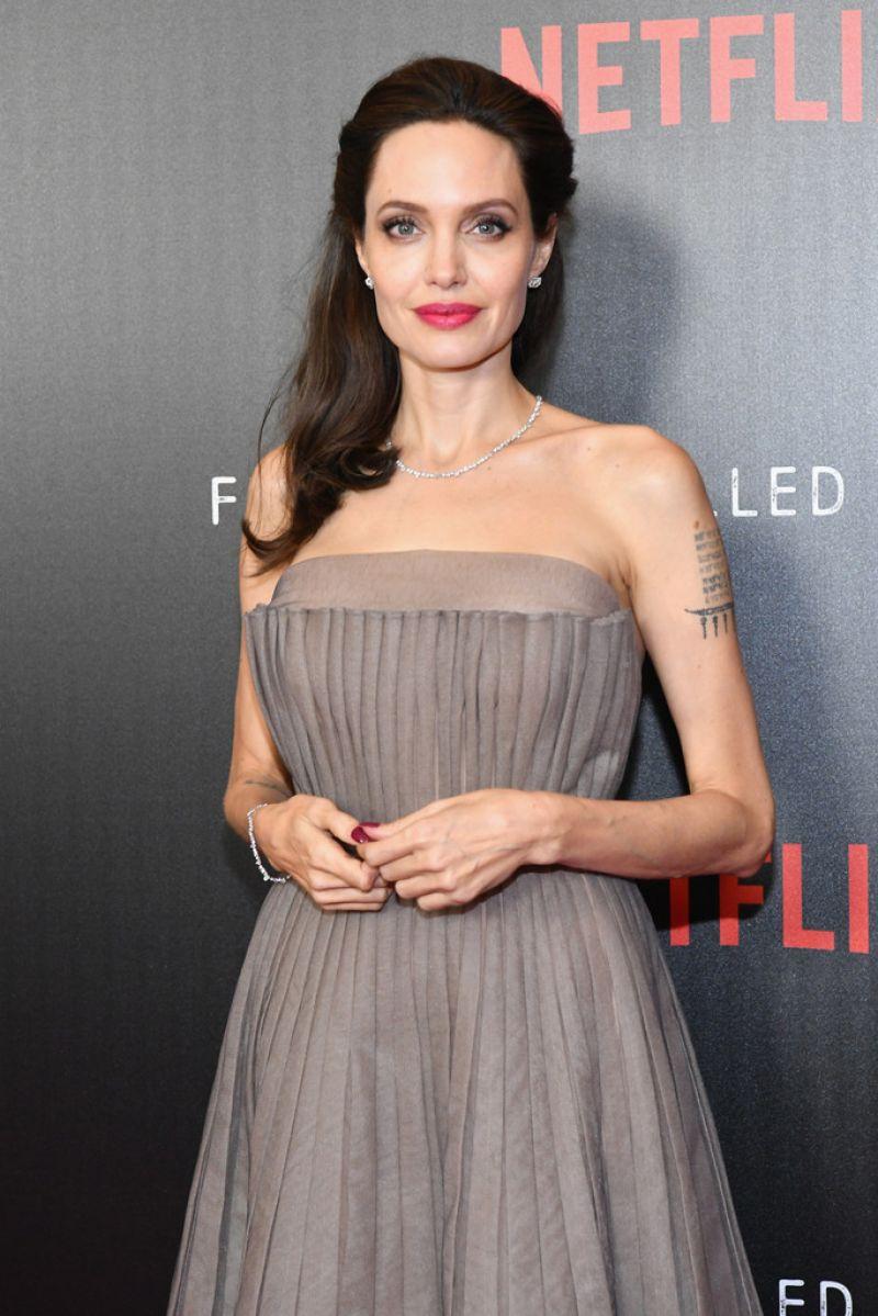 ANGELINA JOLIE at Firs... Angelina Jolie News
