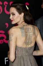 ANGELINA JOLIE at First They Killed My Father Premiere in New York 09/14/2017