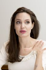ANGELINA JOLIE at First They Killed My Father Press Conference in Beverly Hills 08/25/2017