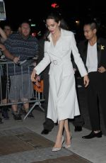 ANGELINA JOLIE Out and About in New York 09/14/2017