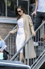 ANGELINA JOLIE Out and About in Toronto 09/12/2017
