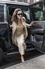 ANGELINA JOLIE Out in New York 09/13/2017