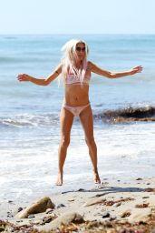 ANGELIQUE FRENCHY MORGAN in Bikini Celebrates Her 42nd Birthday at a Beach in Malibu 09/22/2017