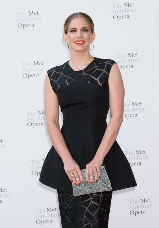 ANNA CHLUMSKY at Metropolitan Opera Opening Night in New York 09/25/2017