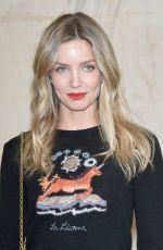 ANNABELLE WALLIS at Christian Dior Fashion Show in Paris 09/26/2017