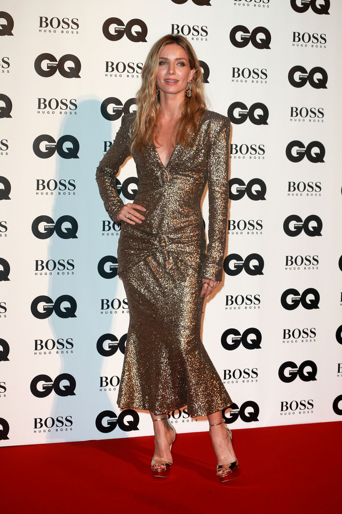ANNABELLE WALLIS at GQ Men of the Year Awards 2017 in London 09/05/2017