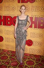 ANNE HECHE at HBO Post Emmy Awards Reception in Los Angeles 09/17/2017