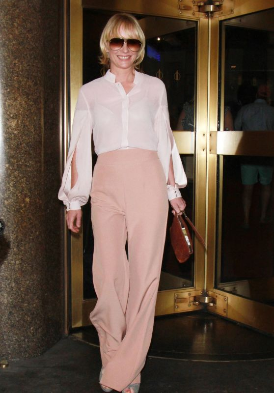 ANNE HECHE Out and About in New York 09/25/2017