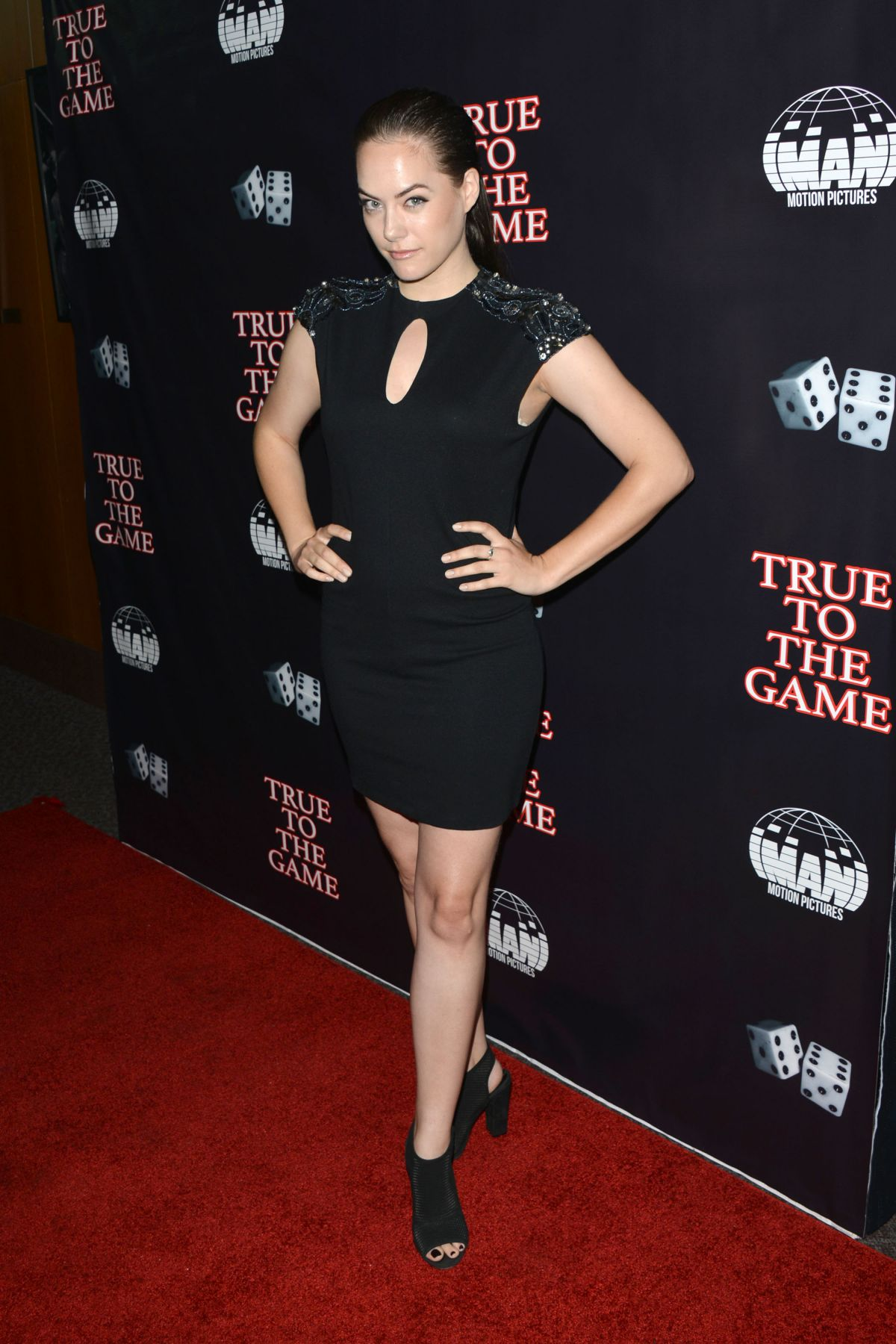 ANNIKA NOELLE at True to the Game in Los Angeles 09/05/2017