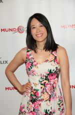 APRIL HONG at MundoFlix Launch Party in Studio City 08/28/2017
