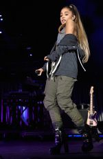 ARIANA GRANDE Performs at A Concert for Charlottesville at University of Virginia