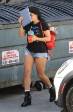 ARIEL WINTER Arrives at a Hair Salon in West Hollywood 09/11/2017