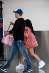 ARIEL WINTER at LAX Airport in Los Angeles 09/22/2017