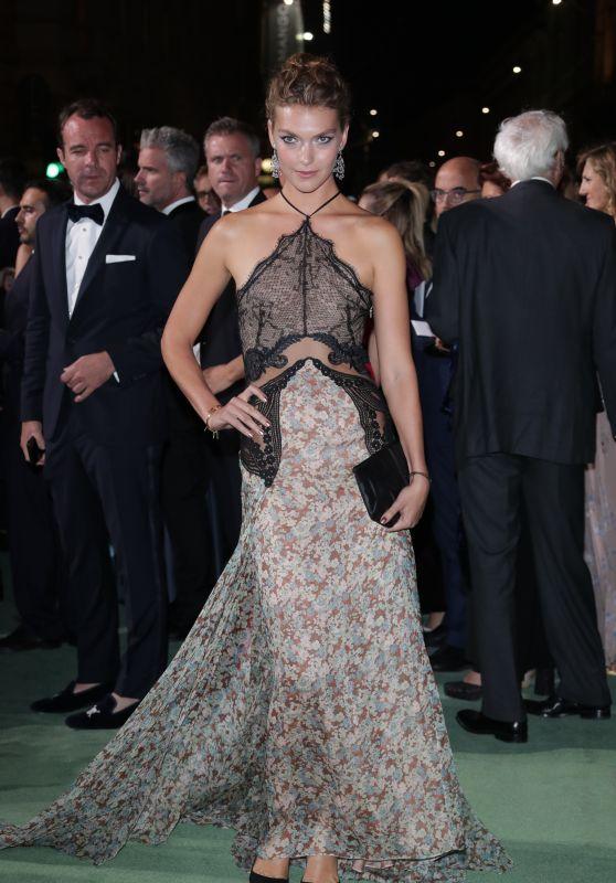 ARIZONA MUSE at Green Carpet Fashion Awards in Milan 09/24/2017