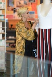 ASHLEE SIMPSON Out Shopping in Los Angeles 09/18/2017
