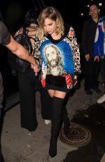 ASHLEY BENSON at Jeremy Scott Fashion Show at New York Fashion Week 09/08/2017