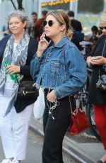 ASHLEY BENSON Out and About in New York 09/15/2017