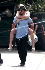 ASHLEY GREENE and Paul Khoury Out for Lunch in Studio City 09/04/2017