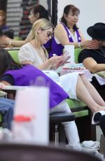 ASHLEY GREENE at a Nail Design in Los Angeles 09/06/2017