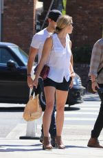 ASHLEY GREENE Out for Lunch in Studio City 09/28/2017
