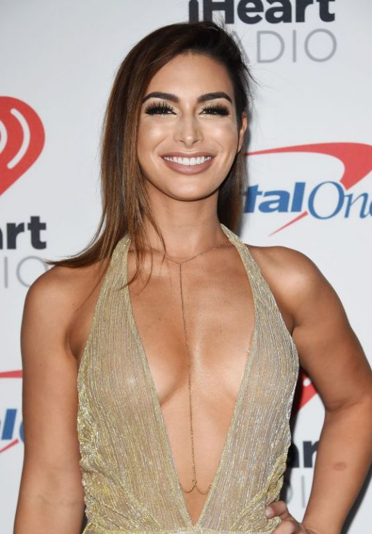 ASHLEY IACONETTI at Iheartradio Music Festival in Las Vegas 09/22/2017