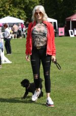 ASHLEY JAMES at Pupaid 2017 in London 09/02/2017