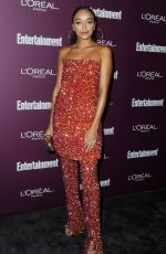 ASHLEY MADEKWE at 2017 Entertainment Weekly Pre-emmy Party in West Hollywood 09/15/2017
