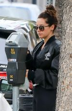 ASHLEY TISDALE Heading to a Gym in Studio City 09/19/2017