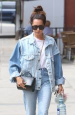ASHLEY TISDALE in Jeans Out and About in Beverly Hills 09/19/2017