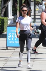 ASHLEY TISDALE Leaves a Gym in Studio City 09/05/2017