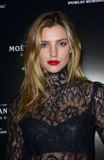 ASTRID BAARSMA at Moet & Chandon by Public School Launch Celebration at New York Fashion Week 09/10/2017