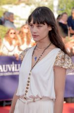 ASTRID BERGES-FRISBEY at 43rd Deauville American Film Festival Opening Ceremony 09/01/2017