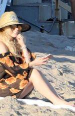AVRIL LAVIGNE at a Beach in Malibu 09/24/2017