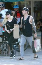 AVRIL LAVIGNE Out Shopping in Malibu 09/24/2017