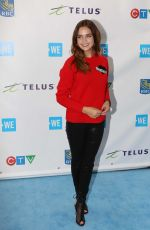 BAILEE MADISON at We Day in Toronto 09/28/2017