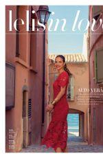 BARBARA PALVIN for Le Lis Blanc Magazine, Brazil October 2017