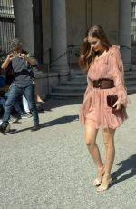 BARBARA PALVIN Out and About in Milan 09/20/2017