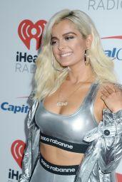 BEBE REXHA at Iheart Radio Festival in Las Vegas 09/22/2017