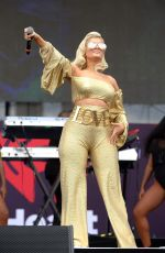 BEBE REXHA Performs at Global Citizen Festival in New York 09/23/2017