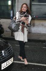 BELINDA CARLISLE Leaves Wogan House in London 09/29/2017