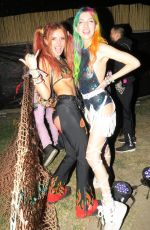 BELLA and DANI THORNE at Nocturnal Wonderland Festival in San Bernardino 09/15/2017