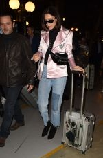 BELLA HADID Arrives in Paris by Eurostar Train 09/25/2017